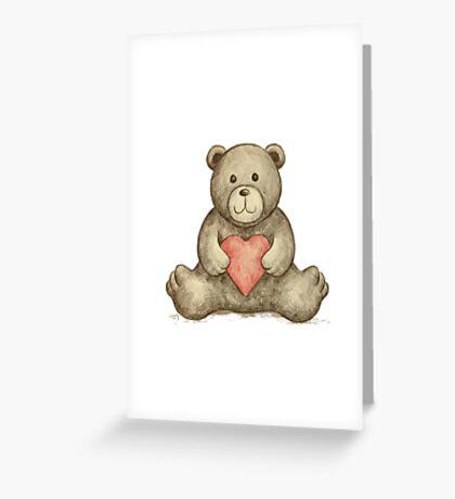 BEAR Greeting Card