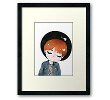 Suga Chibi Framed Print