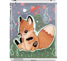 Chibi Red Fox Kitsune Kit  iPad Case/Skin