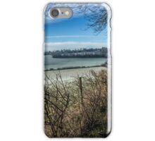 Looking across the Asheridge Valley on a frosty morning, Buckinghamshire iPhone Case/Skin