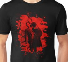 Bonnie & Clyde (bleached look) red Unisex T-Shirt