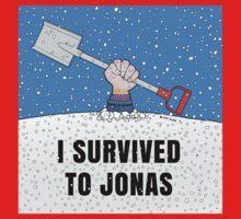 I SURVIVED TO JONAS Kids Tee