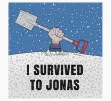 I SURVIVED TO JONAS One Piece - Long Sleeve