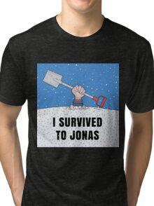 I SURVIVED TO JONAS Tri-blend T-Shirt