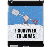 I SURVIVED TO JONAS iPad Case/Skin