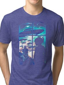 Baby Look Space Tri-blend T-Shirt