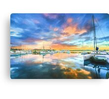 Hobart Sunrise   GO Canvas Print