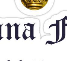 Outlander/Dinna fash Sassenach Sticker