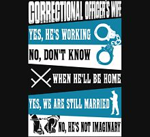 correctional officers wife Correctional Officer Retirement correctiona Unisex T-Shirt