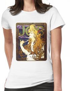 'Job' cigarette paper  Womens Fitted T-Shirt