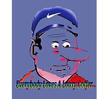 Lousy Golfers Photographic Print
