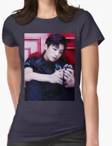 BTS' Jungkook Womens Fitted T-Shirt