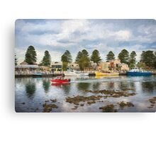 Port Fairy Rush Hour  ED Canvas Print