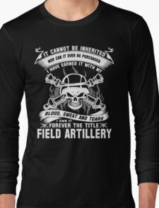 field artillery field artillery major  field artillery mom Armed Force Long Sleeve T-Shirt