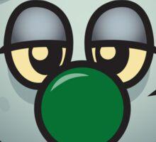 The Horrifying Journey of Zombini Sticker