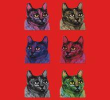 Pop Art Cats One Piece - Long Sleeve