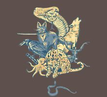 Metal Gear - Animals Characters Unisex T-Shirt