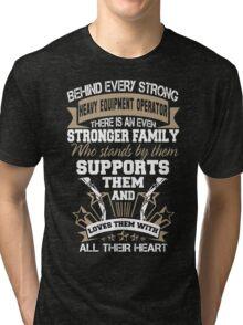 sexy heavy equipment operator  Tri-blend T-Shirt