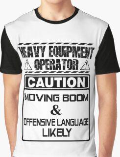 Background Vector Bolt  heavy equipment operator heavy equipment opera Graphic T-Shirt