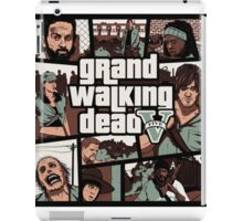 Grand Walking Dead  iPad Case/Skin