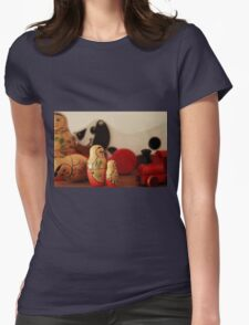 Vintage wooden toys Womens Fitted T-Shirt