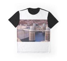 Dam Diorama Graphic T-Shirt