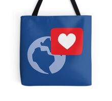Love notification Tote Bag