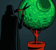 Darth Vader Gardener Grey Sticker