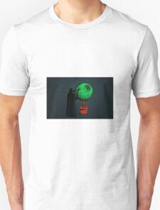 Darth Vader Gardener Grey Unisex T-Shirt