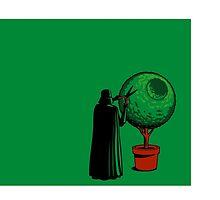 Darth Vader Gardener Green Large by kinglear