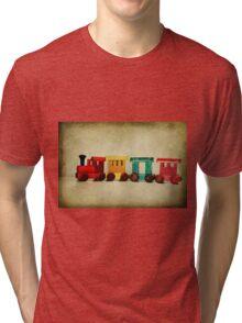 Little choo choo train Tri-blend T-Shirt