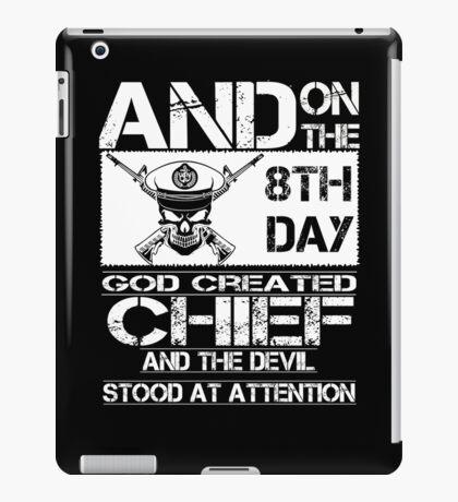 Airplane navy chief navy pride Us Navy navy chief dad navy chief wife  iPad Case/Skin