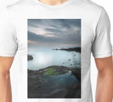 Rock pool by the Sound of Jura at Sunset Unisex T-Shirt