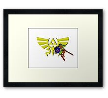 The Legend of Zelda: Hero of Triforce Framed Print
