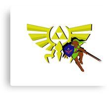 The Legend of Zelda: Hero of Triforce Canvas Print