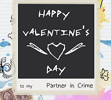 Partner in Crime - Card by SallyDiamonds