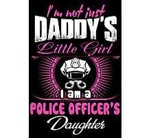 police officer onesies police officer dad Professional police officer  Photographic Print