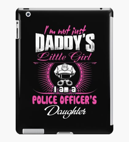 police officer onesies police officer dad Professional police officer  iPad Case/Skin