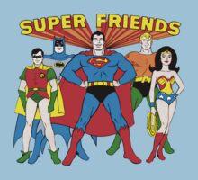 Super Friends Hero Kids Tee