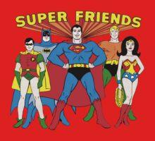 Super Friends Hero One Piece - Short Sleeve
