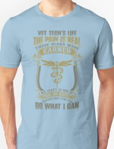 Vet T Shirts Funny vet tech superpower vet technician caduceus Veterin Unisex T-Shirt