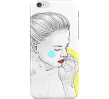 Dreaming of another girl. iPhone Case/Skin