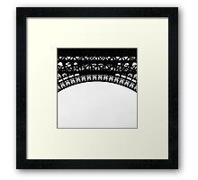 paris, the Eiffel tower. detail Framed Print