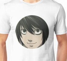 L Death Note Anime Unisex T-Shirt