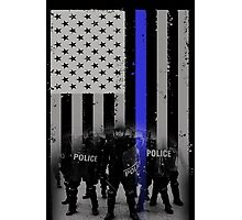 police officer daughter police officer cousin police officer prayer po Photographic Print