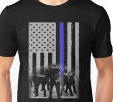 police officer daughter police officer cousin police officer prayer po Unisex T-Shirt
