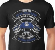 police officer mug police officer daughter police officer onesie polic Unisex T-Shirt