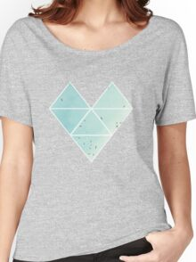 Free Birds in Blue Sky Women's Relaxed Fit T-Shirt