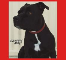 Staffy Dog Kids Tee