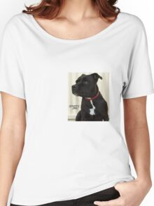 Staffy Dog Women's Relaxed Fit T-Shirt